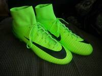 Nike Mercurial Victory VI DF FG Electric Green Black Flash Lime