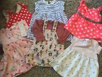 Girls 3-6months Summer Bundle next, dresses, outfits and jacket