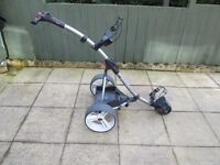 motocaddy S1 DIGITAL electric golf trolley,new battery,new charger,good working condition.