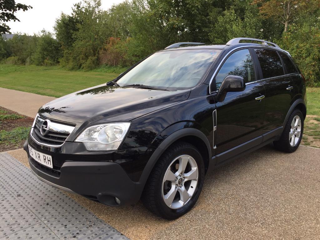 lhd left hand drive opel antara cosmo 2 0 cdti automatic 2007 black low miles warranty part. Black Bedroom Furniture Sets. Home Design Ideas