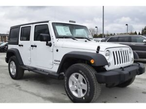 2018 Jeep WRANGLER UNLIMITED Sport +Rabais+marchepieds,