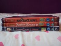 The Santa Clause 1, 2 & 3 DVDs