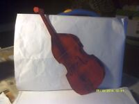 """A DOUBLE BASS MAGNETIC PICK UP ( ACTUALLY """" 2"""" SIDE BY SIDE ) FOR THE 4 STRINGS"""