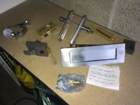 Front Door Ironmongery - With locks and 4 keys £30