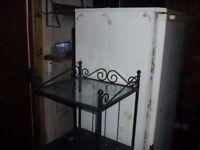 black wrought iron 3 tier bathroom shelf