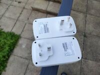 TP-Link TL-PA8010PKIT V2 1-Port Gigabit Passthrough Powerline Starter Kit, Speed Up to 1300 Mbps