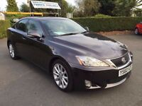 1 OWNER 2010 LEXUS IS250 SE-I AUTOMATIC FULL HISTORY HPI CLEAR FINANCE £500 DEPOSIT £157 X 48 MONTHS