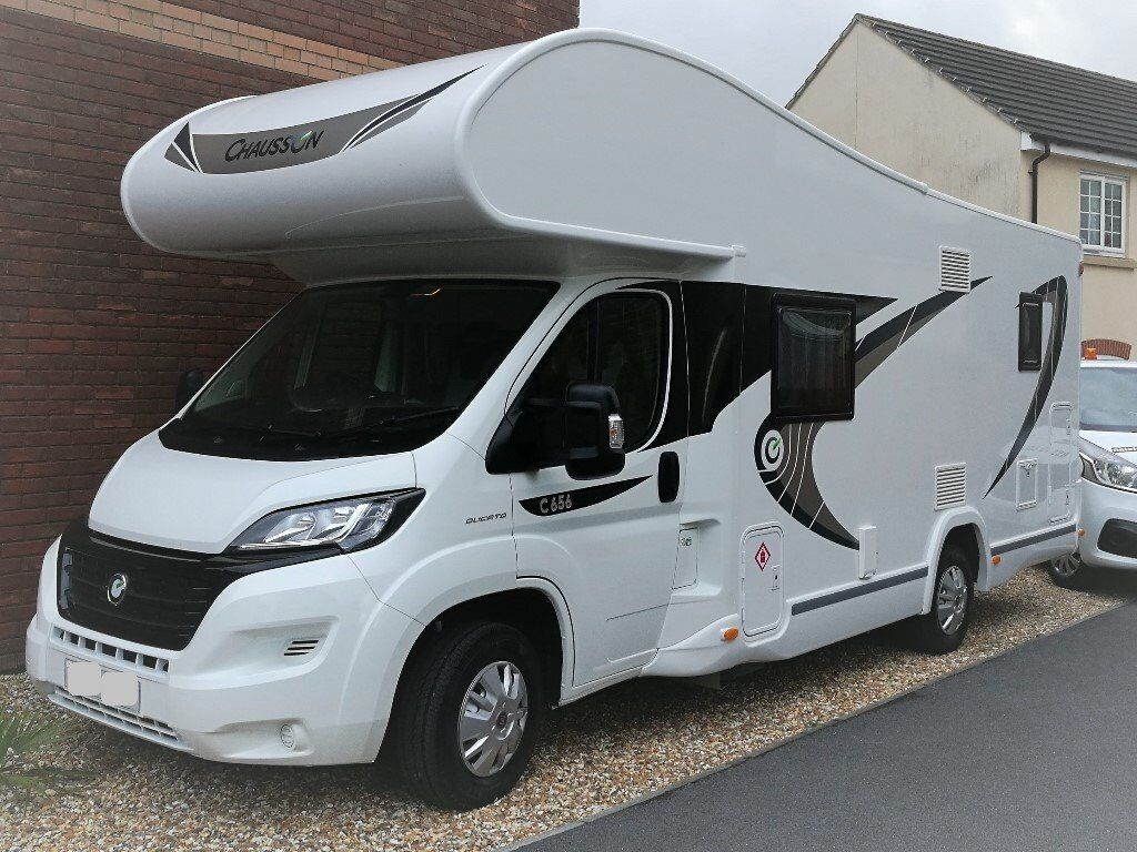 Motorhome Chausson Flash 656, 2017, 7 berth, 7 belts, 2000 milage only. £45,999