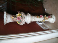 jardiniere large floral plant stand ,lovely unusual ornament