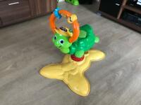 Vtech Animal Fun Bounce Time Turtle Musical Bouncer.