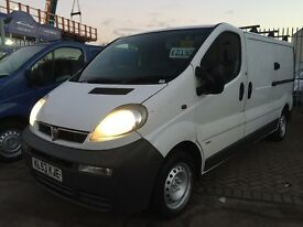 **REDUCED** 2003 53 VAUXHALL VIVARO 1.9 DTI LWB VAN TURBO DIESEL SUPERB DRIVE A1 LONG MOT NO VAT