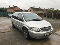 Chrysler Grand Voyager 2.5 crdi (SPARES OR REPAIRS)