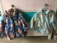 3-4 girls jackets (2)-great condition!