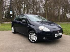 Fiat Punto 3 door Blue 1.2 petrol manual MOT till 2019