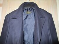 BRAND NEW, SMART, WARM WINTER COAT. CROMBIE. STYLE NEVER WORN, FIT CHEST SIZE 48.