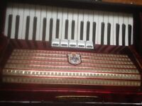 WELTMEISTER ACCORDION 120 bass