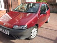 2002 FIAT PUNTO FOR SALE , MOT MARCH 2017,ONLY: 87000 miles