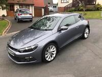 2009 vw scirocco gt