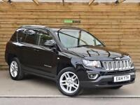 Jeep Compass 2.2 CRD Limited 5dr ONE PRIVATE OWNER (black) 2014
