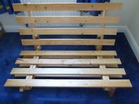 Futon Company double futon frame w/optional mattress