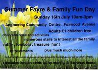 Summer Fayre & Family Fun Day