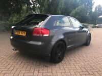 Audi A3 s line edition 2.0 diesel leather seats 1 year mot not golf