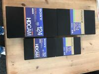 New Sony/Fuji Small and large Format HDCAM Video tape