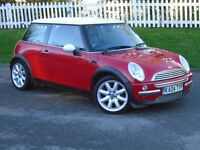 2004 (04) MINI Hatch 1.6 Cooper   12 MONTHS MOT   LOW MILAGE   HPI CLEAR   IMMACULATE