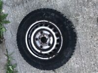 Ford transit custom set of 4 standard wheels with tyres lots of tread