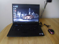"Laptop Dell E5500 Windows 10 HDD 120GB RAM 3GB 15.4"" screen"