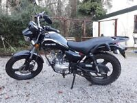 Zontes Tiger Z 50 cc motorbike 2016 . Well maintained, VGC