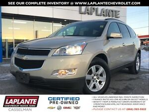 2011 Chevrolet Traverse LT AWD|SunnRoof|Pwr Liftgate|8 Wheels an
