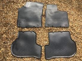 Genuine VW Golf Rubber Winter Mats for MK5 and MK6 2004-2013