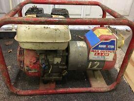 Honda gx160 5.5 generator