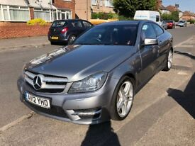 Excellent Condition - Full Merc Service History - 1 Previous Owner - C Class Coupe AMG Sport