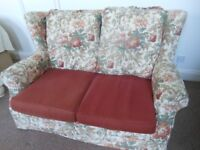 Cottage style 2 seat sofa