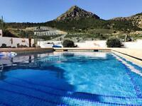 Remote mountain villa holiday rental