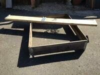 Raised garden beds (3 sizes available)