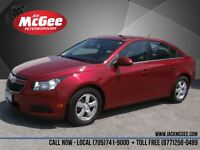 2012 Chevrolet Cruze LT Turbo - 16 Alloys, Crystal Red