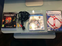 PS3 games, cable and Champ Manager 08