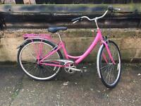 Women's city dutch bike