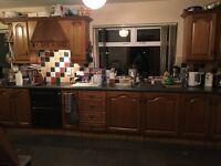 Full Kitchen including all appliances (Hob, Cooker, Microwave Fridge & Sink)