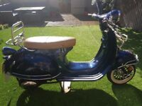 LEXMOTO MILANO 50CC. EXCELLENT CONDITION. LOW MILEAGE. ONLY SELLING AS NOW ELIGIBLE FOR A LARGER CC.