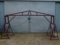 Lifting Gantry with Hublast Hoist - 500kg