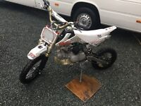125cc super stomp pit bike