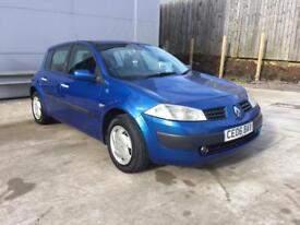 CHEAP RENAULT MEGANE WITH NEW MOT