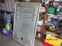 Brand new Walk in Shower tray & waste