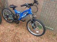 2 x Indi Outrider Kids Mountain Bikes 20 inch Steel Frame