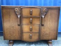 Lovely old sideboard FREE DELIVERY PLYMOUTH AREA