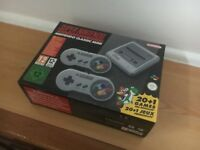 *Brand New* SNES Super Nintendo Classic Mini Console - Super Nintendo Entertainment System PAL